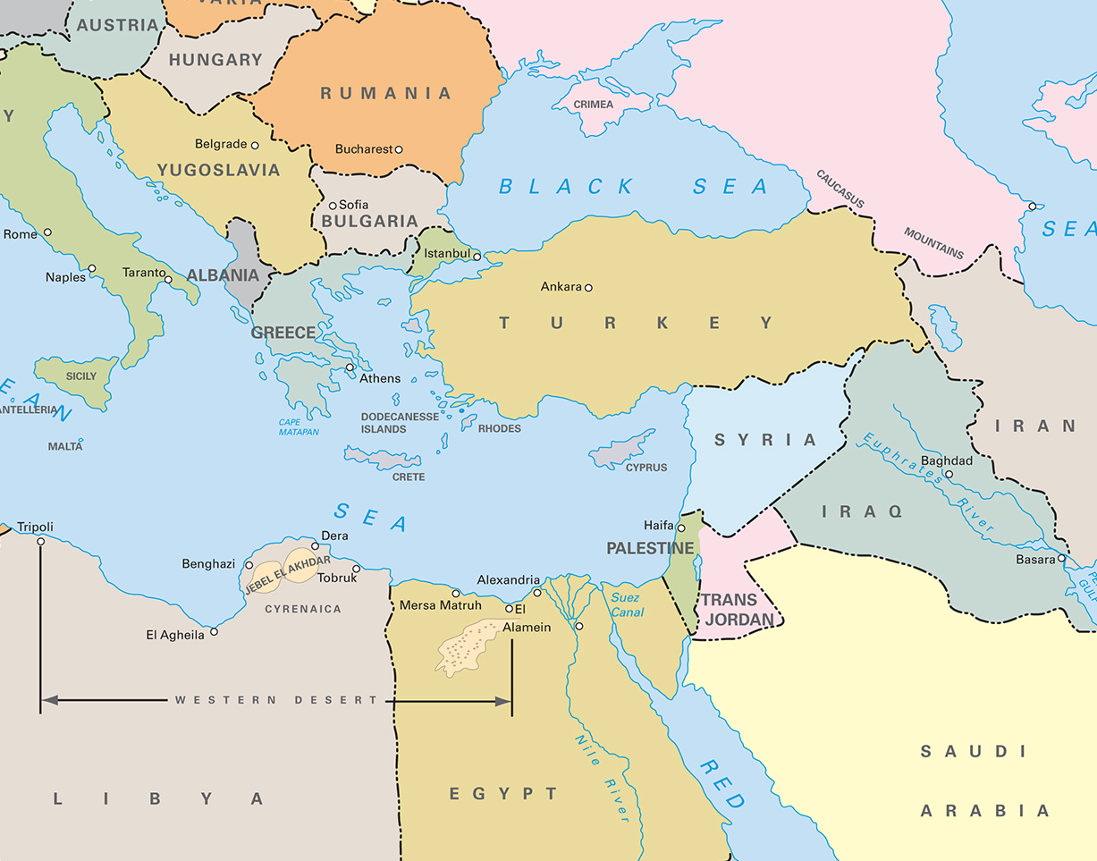 The Iliad and Odyssey – Odyssey Travel Map