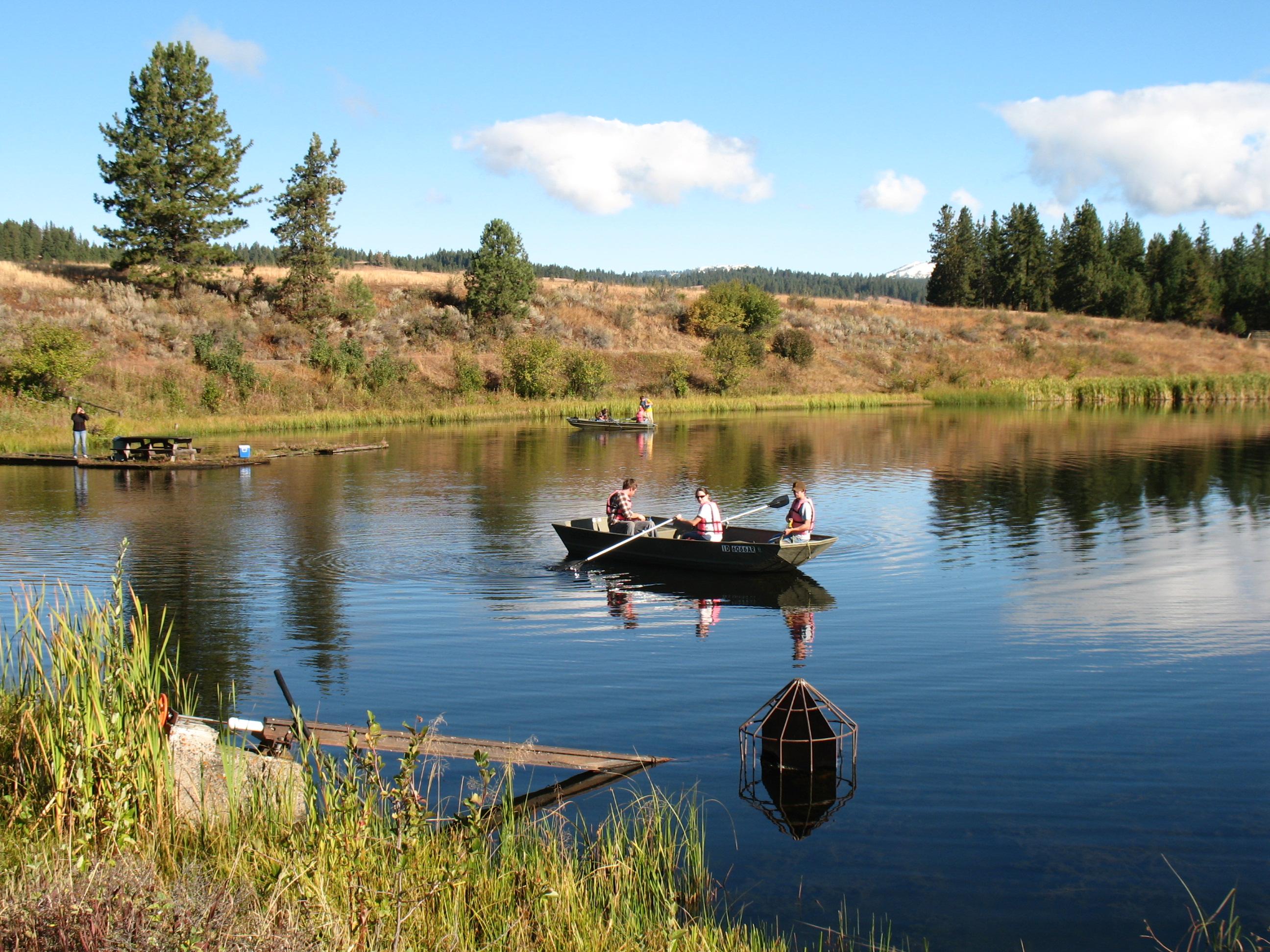 From grace gardner for Lake wilhelm fishing