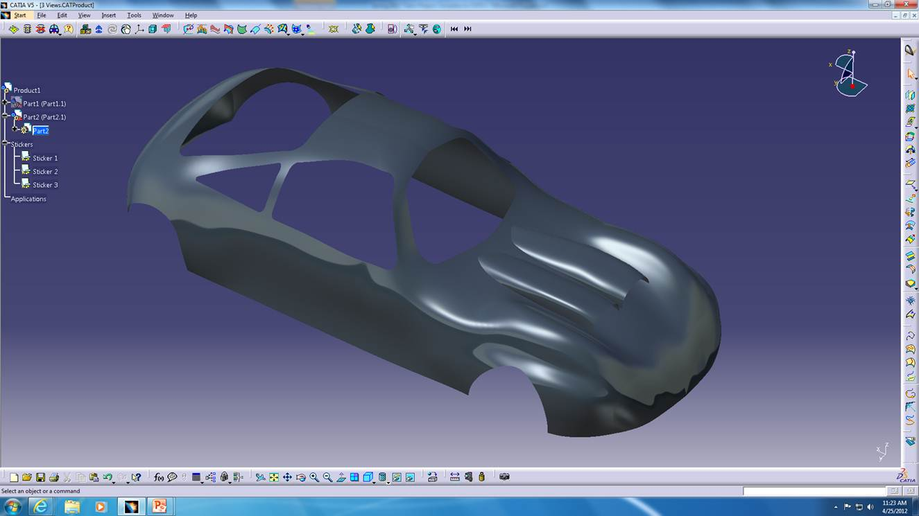 Past Projects Wire Harness Embly Workbench Report On The Use Of Generative Shape Design In Hybrid Car Project Pptx