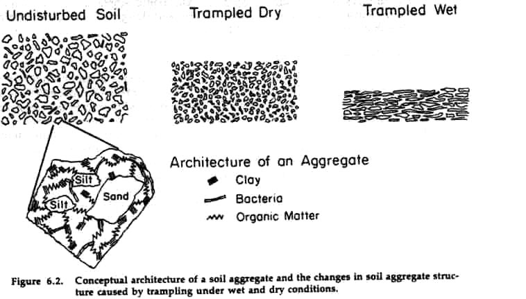 Transit through the terrestrial system for Soil particles definition