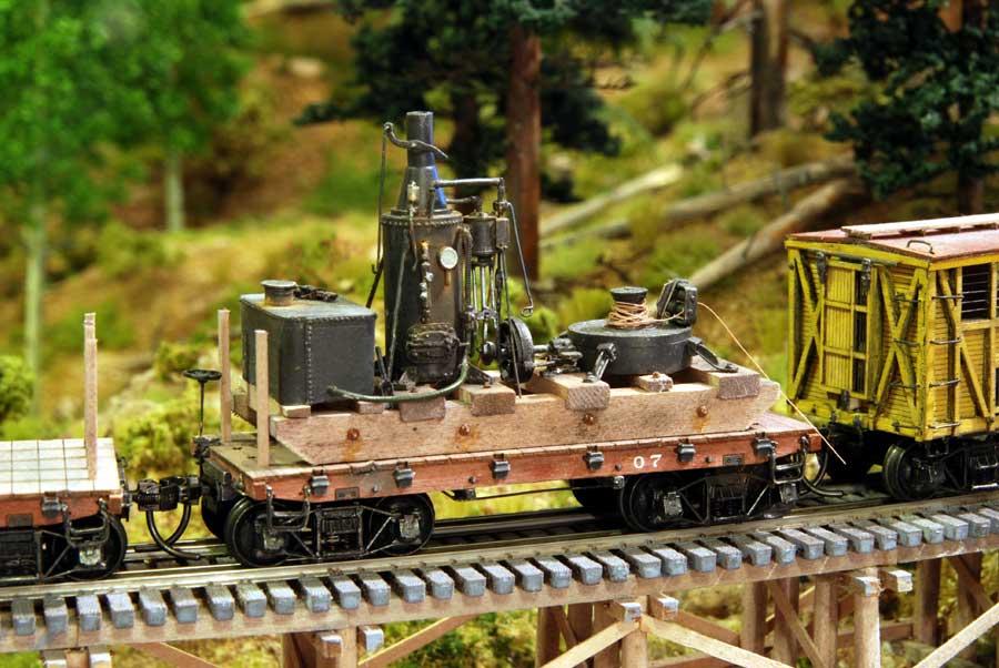 Logging Railroad Tools