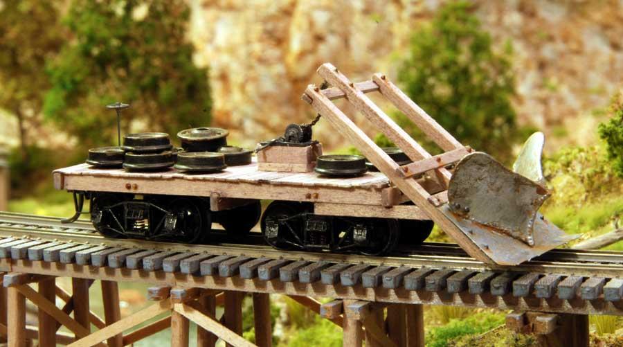 Logging Railroad Rolling Stock